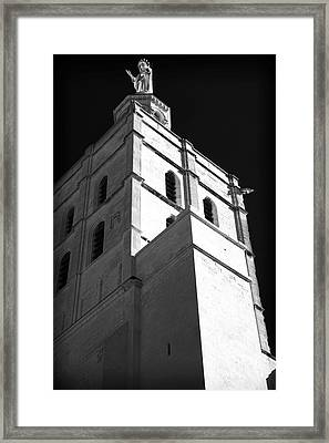 Watching Over The Papal Palace Framed Print