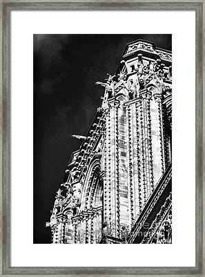 Watching Over The Square Framed Print