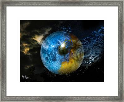 Framed Print featuring the photograph Watching Over Us by Glenn Feron