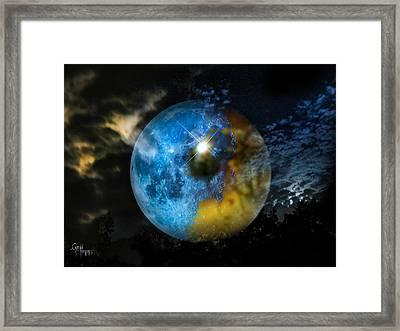 Watching Over Us Framed Print by Glenn Feron