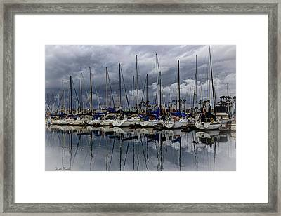 Watching The Clouds Drift Framed Print by Heidi Smith