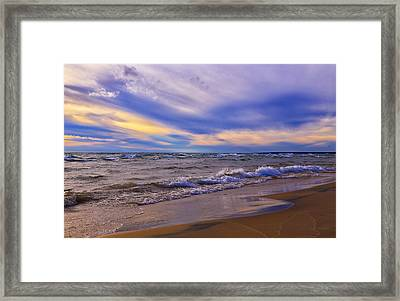 Watching The Sunset Framed Print by Rachel Cohen