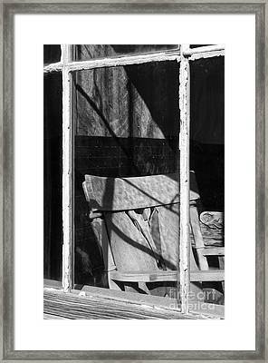 Watching Time Go By Framed Print by Sandra Bronstein