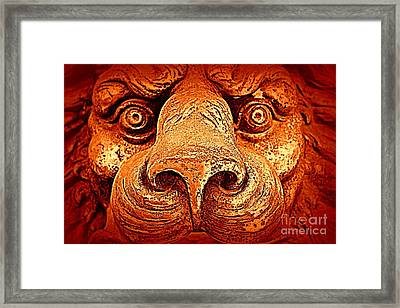 Watching You Framed Print by Clare Bevan