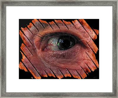 Watching You Framed Print