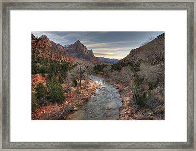 Watchman Of Zion Framed Print