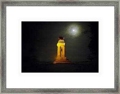 Watchtower Framed Print by Aged Pixel