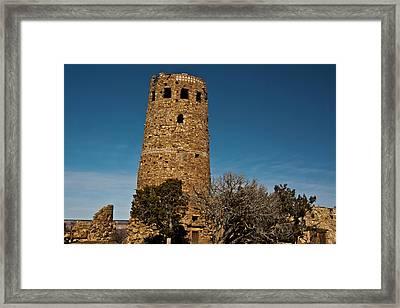 Watchtower, Desert View, South Rim Framed Print