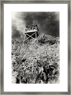 Watchtower Framed Print by Patrick M Lynch