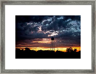 Watchtower Framed Print by Shirley Heier
