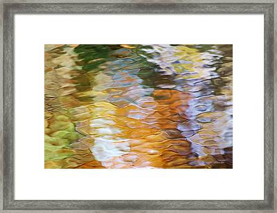 Water Abstract Framed Print by Christina Rollo