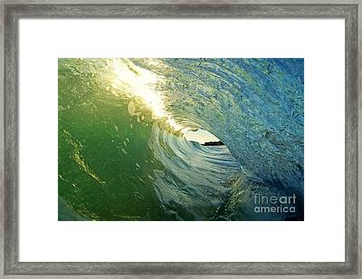 Water And Light Framed Print by Paul Topp