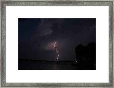Water Arc Framed Print