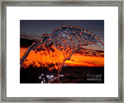 Water Art 2 Framed Print