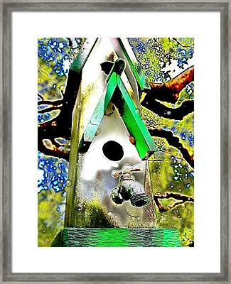 Water Birds Framed Print