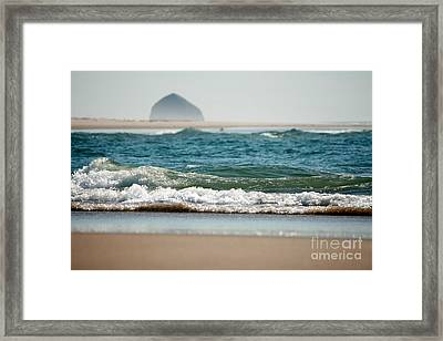 Water Blanket Framed Print