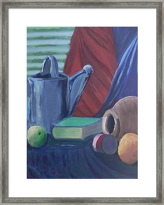Water Bucket And Things Framed Print