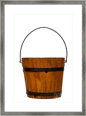 Water Bucket Framed Print