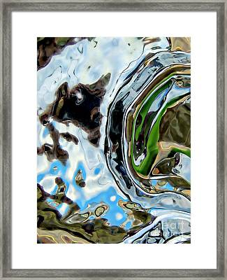 Water Captivates Framed Print