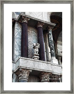 Water Carrier In Venice Framed Print by John Rizzuto