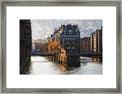 Water Castle Framed Print by Joachim G Pinkawa