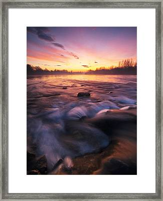 Water Claw Framed Print by Davorin Mance