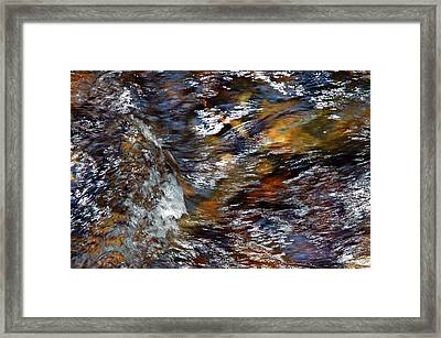 Water Color Framed Print by Allen Carroll
