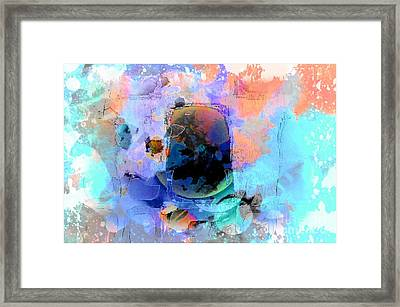 Water Color Cloth Framed Print