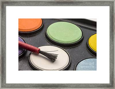 Water Color Palettes  Framed Print