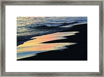 Water Colors .. Framed Print by Michael Thomas