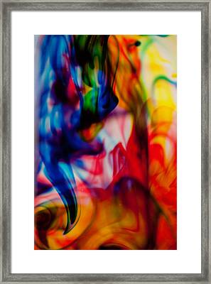 Water Colour Framed Print