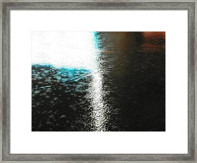 Water Colours 14 Framed Print by Bernie Smolnik