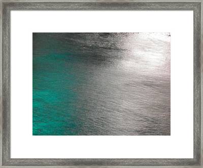 Water Colours 22 Framed Print by Bernie Smolnik