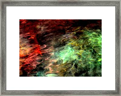 Water Colors Framed Print by Deena Stoddard