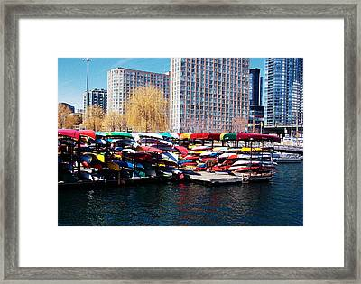 Water Colours Framed Print by Nicky Jameson