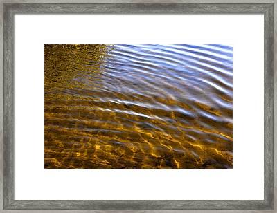 Water Concerto 5 Framed Print