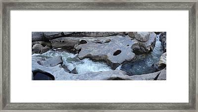 Water Contemplation Framed Print by Christy Lifosjoe