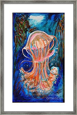 Water Dance Framed Print by Valarie Pacheco