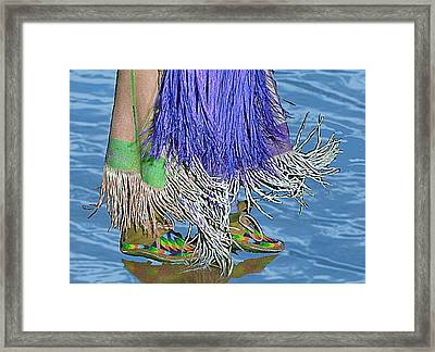 Water Dancing Framed Print by Kae Cheatham