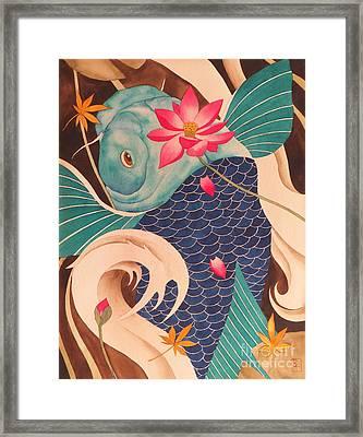 Water Dragon Framed Print by Robert Hooper