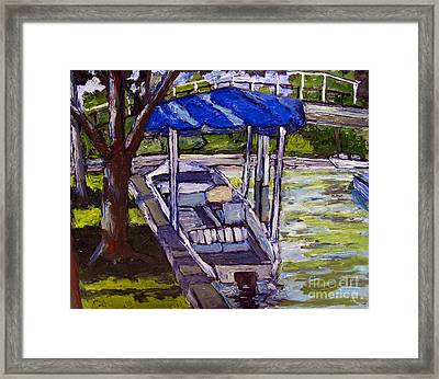 Water Draws The Money Framed Print by Charlie Spear