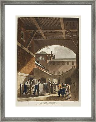 Water Engine Framed Print by British Library