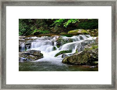 Water Fall 2 Framed Print