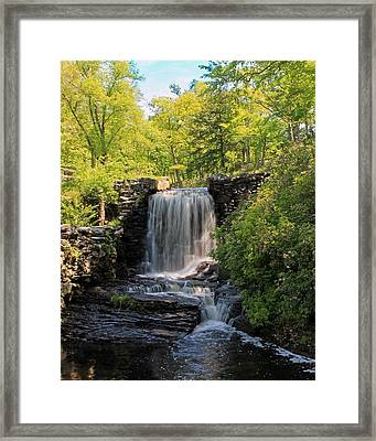 Water Fall Moore State Park 2 Framed Print