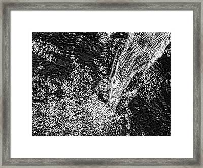 'water Fall' Framed Print