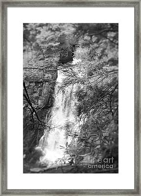 Water Falls Framed Print by Paul Cammarata