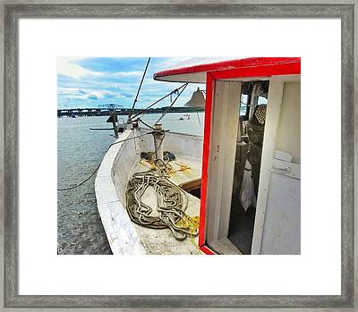 Water Festival  Beaufort South Carolina  Framed Print by Patricia Greer