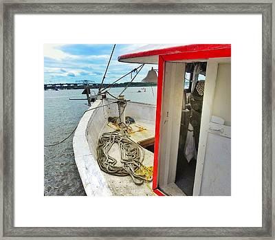 Water Festival  Beaufort South Carolina  Framed Print