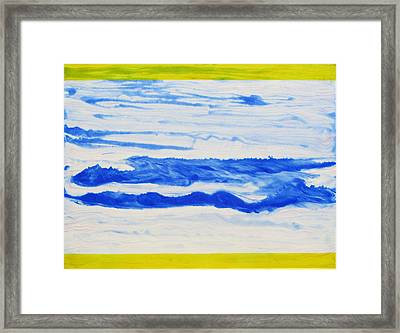 Water Flow Framed Print by Tom Hefko