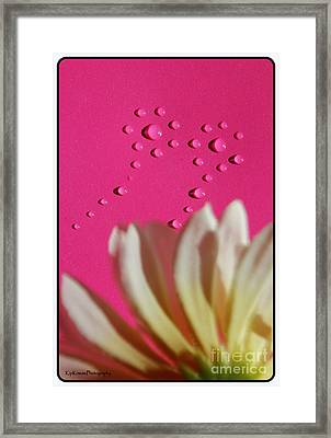 Water Flowers Framed Print by Kip Krause